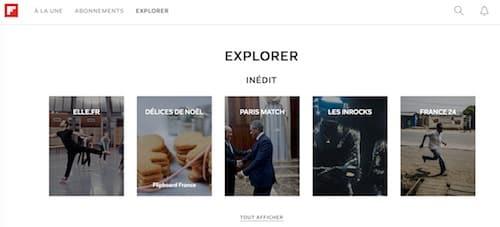 Flipboard - Outil de curation de contenu
