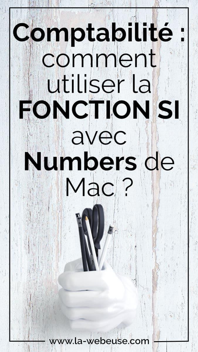 Comment faire une Fonction Si Multiple avec Numbers de Mac