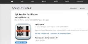 QR Reader iPhone