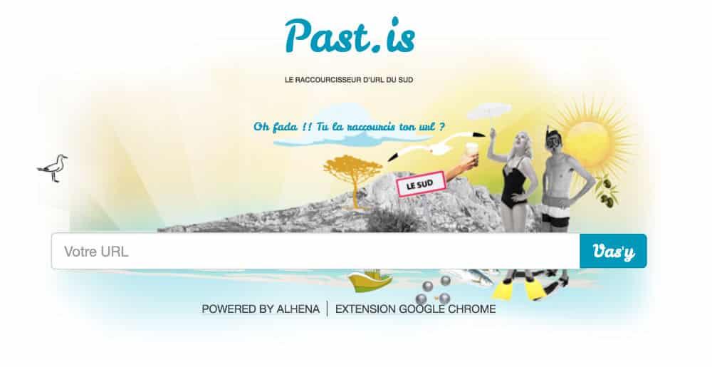 Raccourcisseur URL - pastis