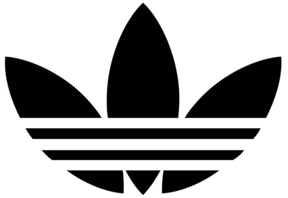 logo abstrait Adidas