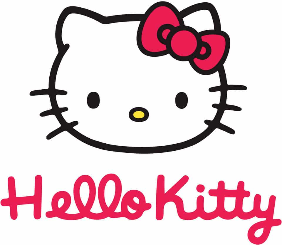 logo dessin Hello Kitty