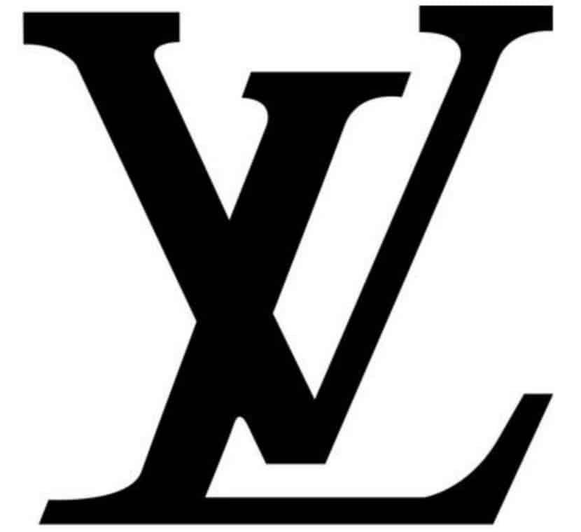 logo in itiale Louis Vuiton