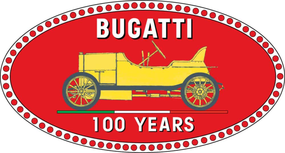 logo vintage Bugati