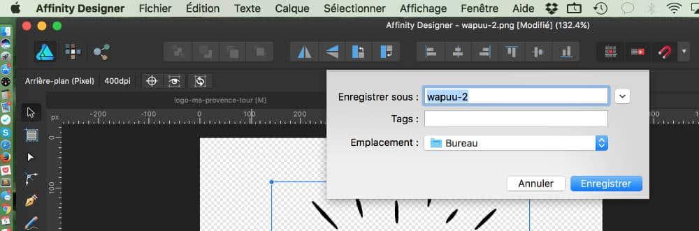 Optimiser ses images pour le web avec Affinity Designer - 3