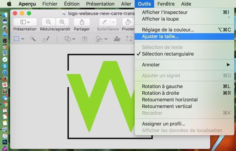 Optimiser les images pour le web avec Aperçu - 2