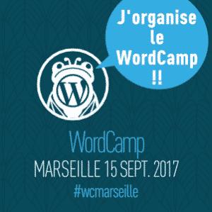 Organisatrice du WordCamp Marseille