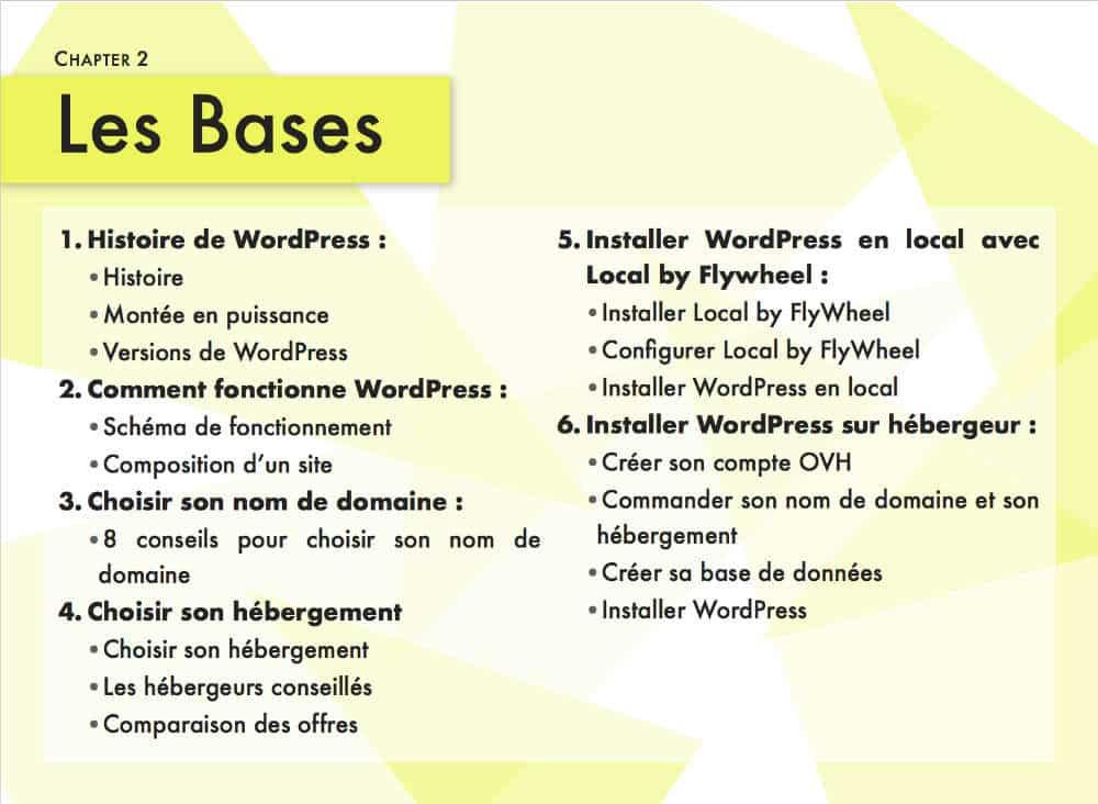 guide WordPress - Chapitre 1 : les bases