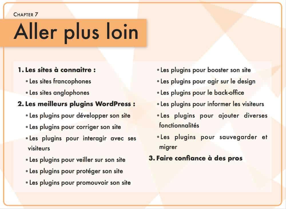 guide WordPress - Chapitre 6 : aller plus loin