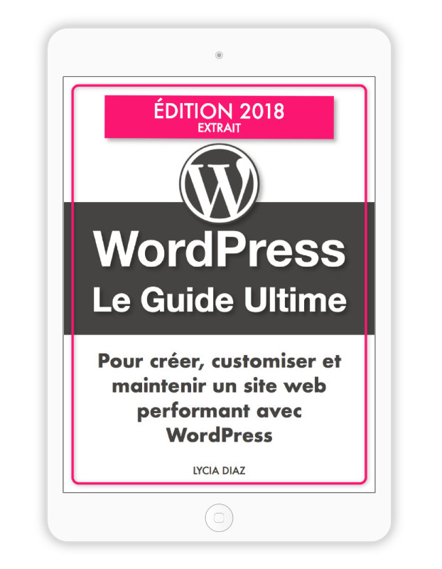 Extrait du guide ultime WordPress