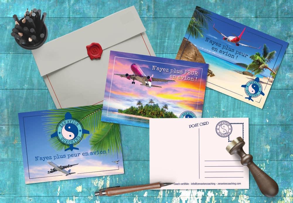 Remplacez vos flyers par des cartes postales