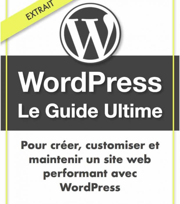 Extrait gratuit du Guide Ultime de WordPress