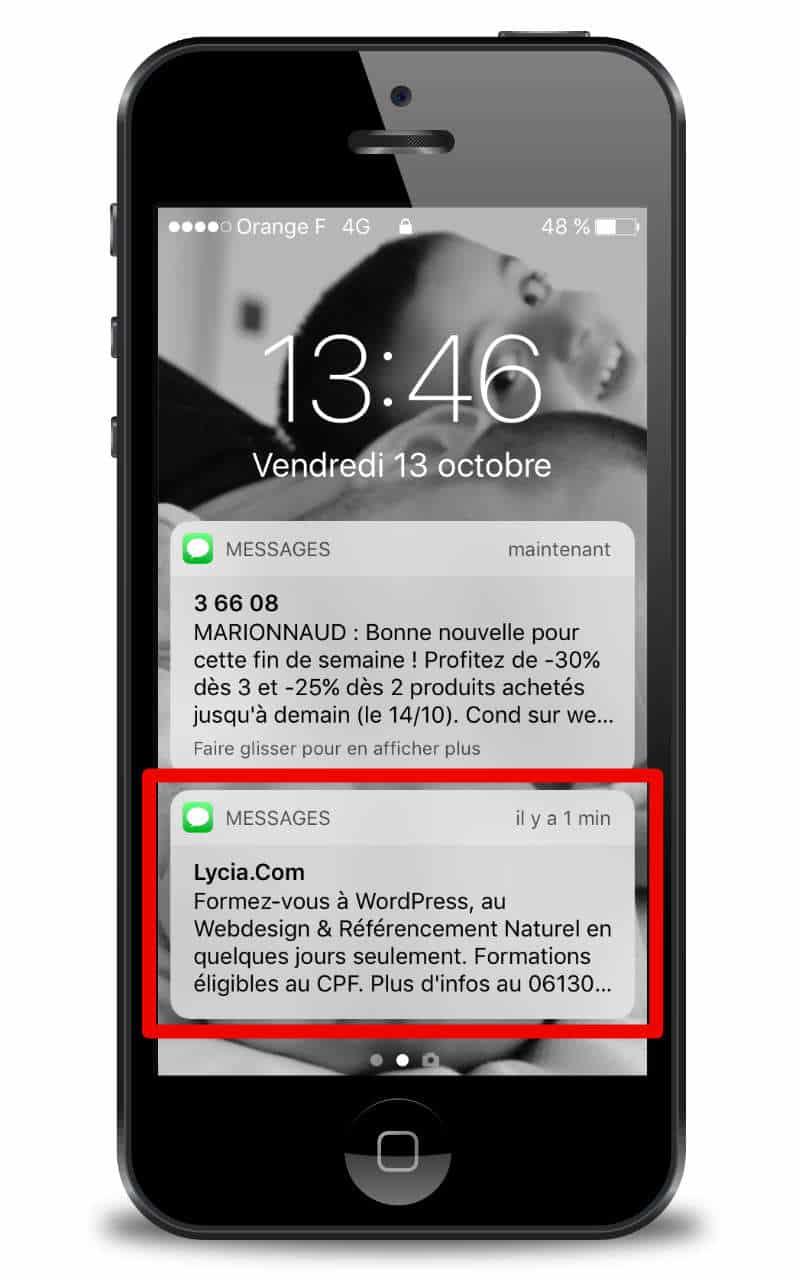 Résultat campagnes SMS