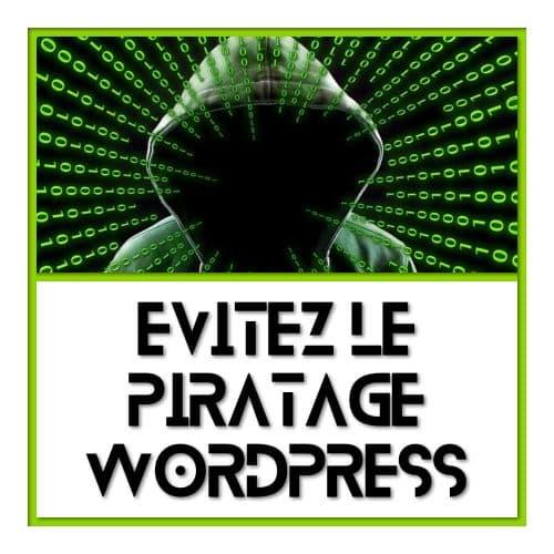 Sécurité Web - évitez le piratage
