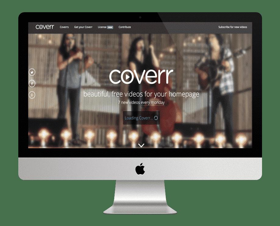 Coverr - site de vidéos gratuites