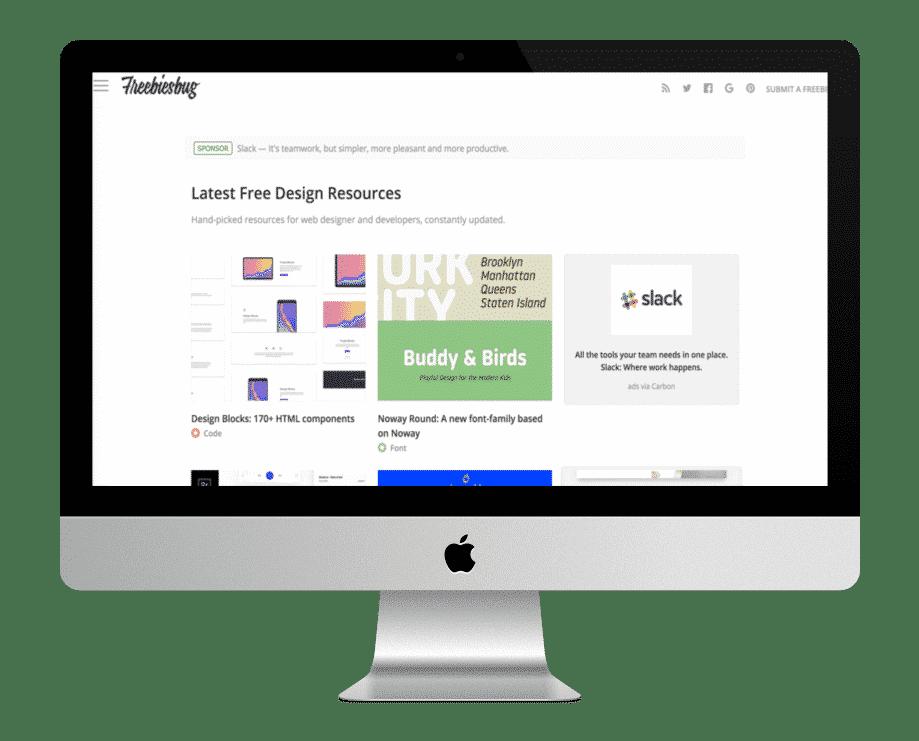 Freebiesbug - ressources web gratuites
