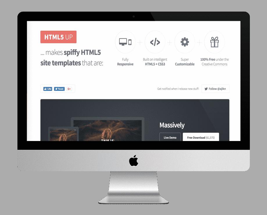 HTML5UP - templates HTML gratuites