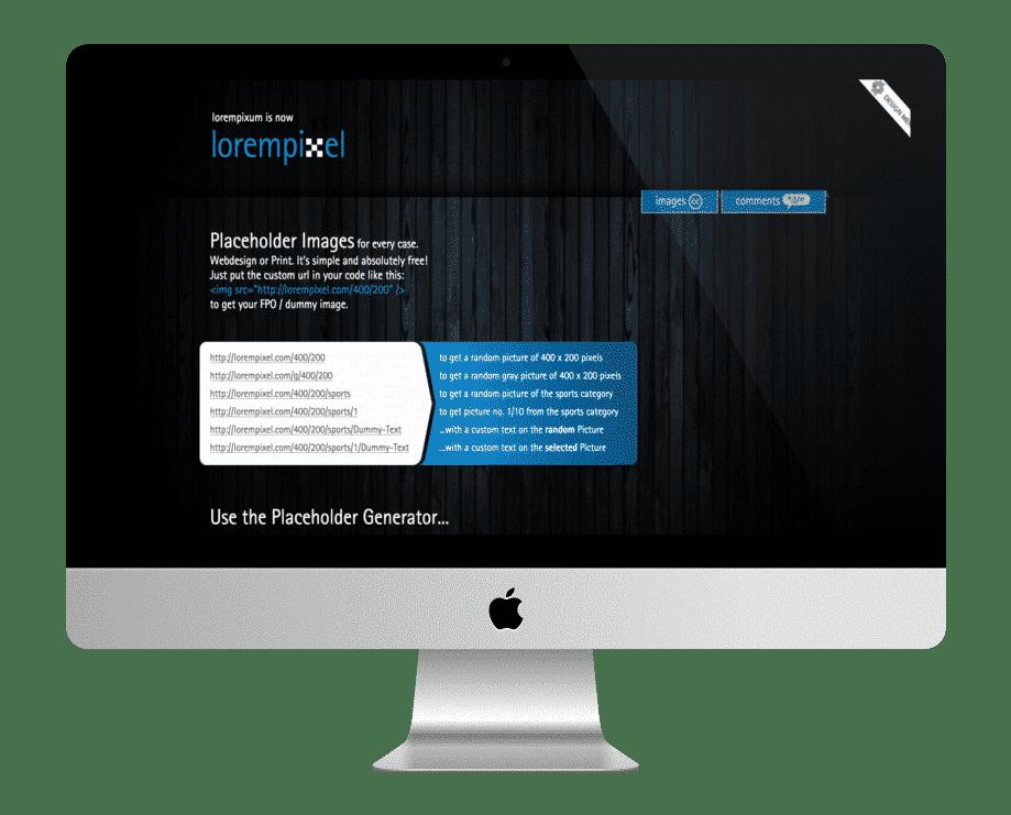 Lorempixel - images gratuites