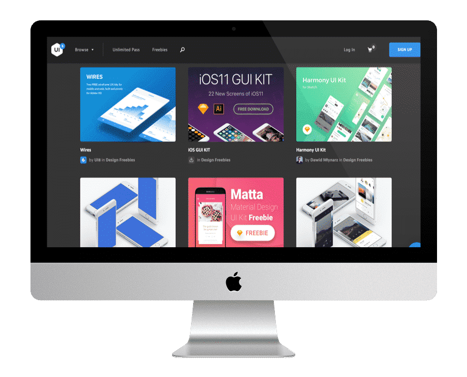 UI8 - ressources gratuites