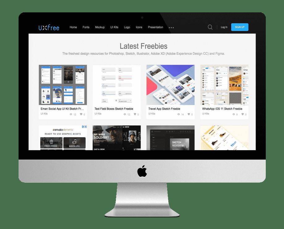 UXFree - ressources graphiques
