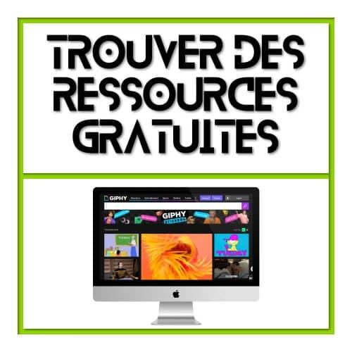Où trouver des ressources web gratuites ?