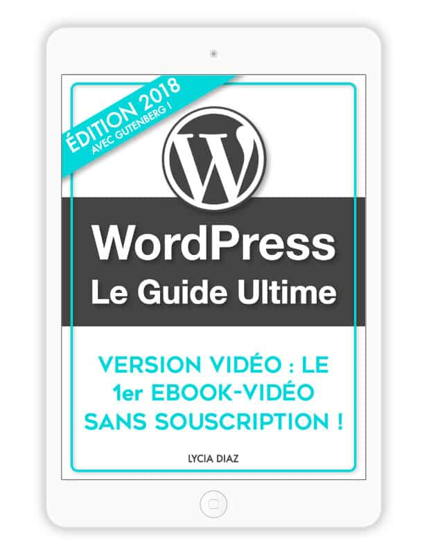 Guide WordPress PDF - Version Vidéo