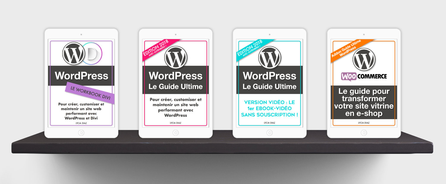 La collection des ebooks PDF de La Webeuse