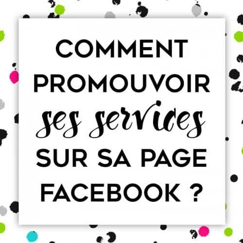 Comment ajouter vos services sur votre Page Facebook