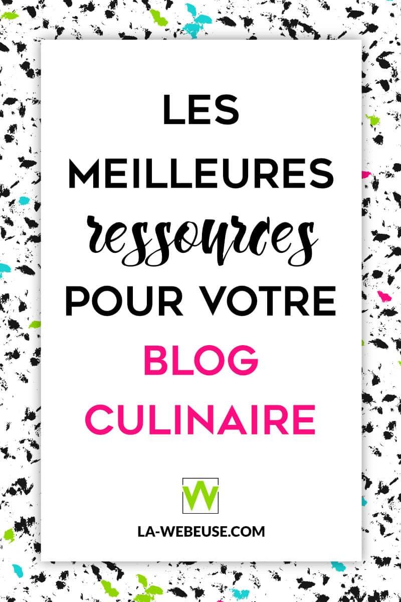 Des ressources pour blog culinaire