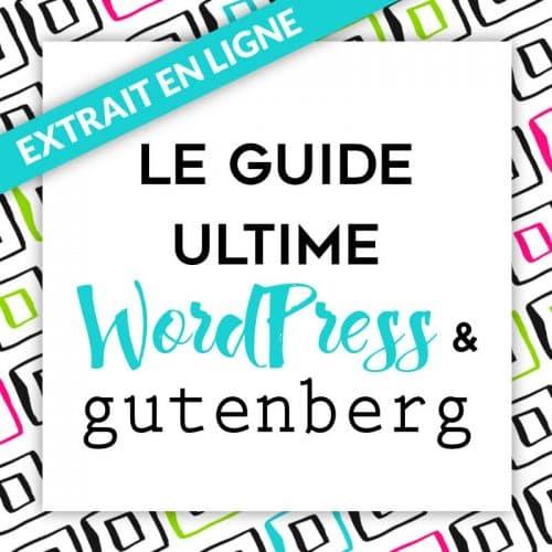 Guide WordPress consultable en ligne