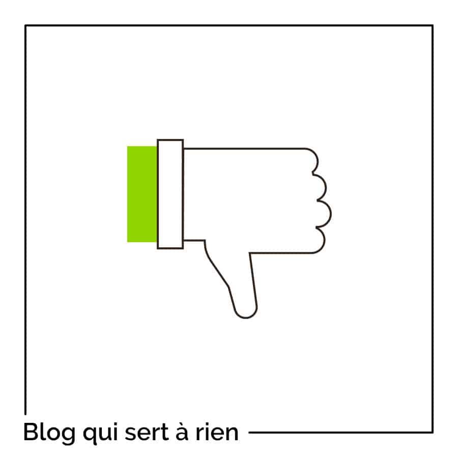 Mon blog ne m'apporte aucun client : dois-je continuer à écrire ?