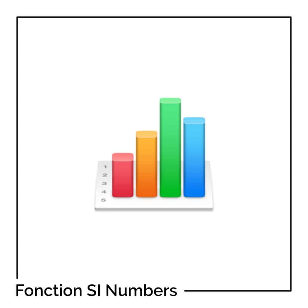 Fonction SI avec Numbers