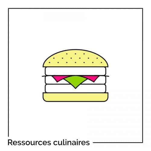 Des ressources pour votre blog culinaire