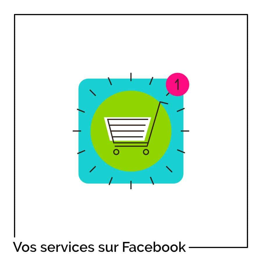 Comment proposer ses services sur une Page Facebook ?