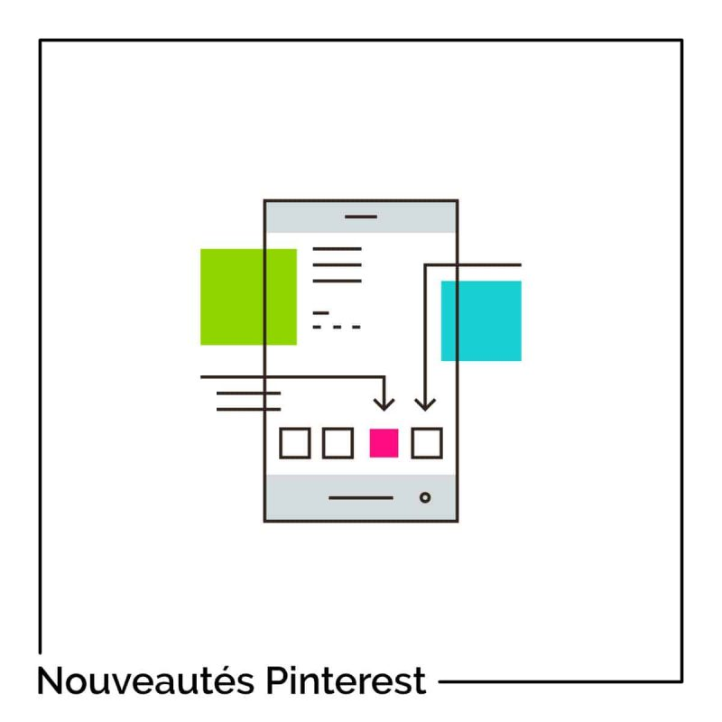 nouveautés Pinterest