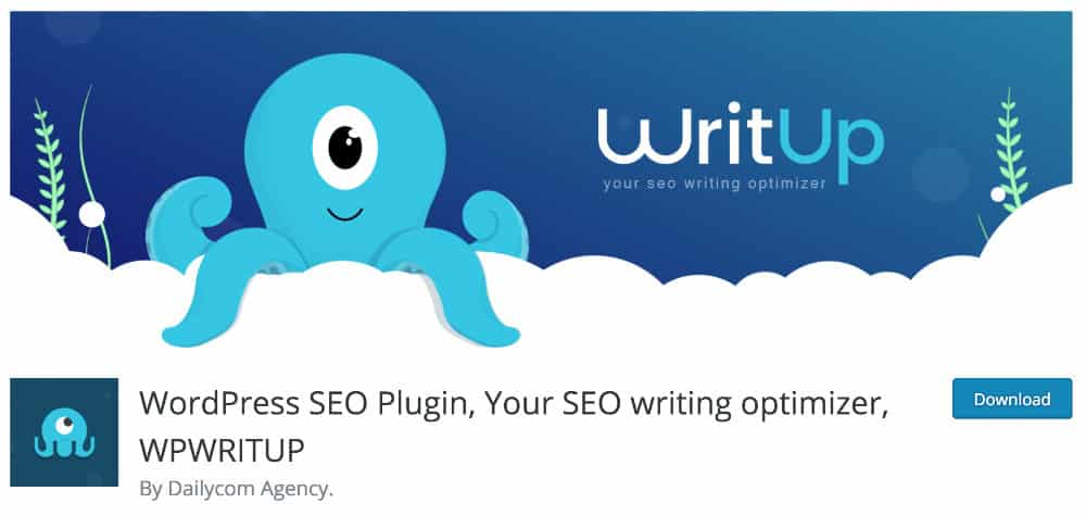 WP WritUp - plugin d'optimisation SEO
