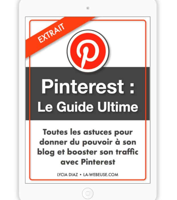 Ebook Pinterest Extrait