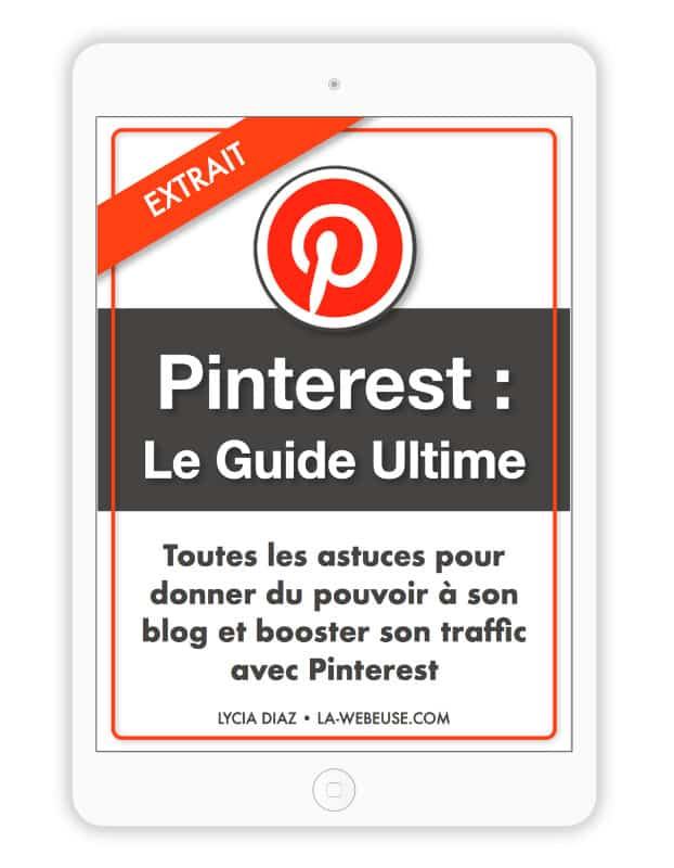 Ebook Pinterest Extrait