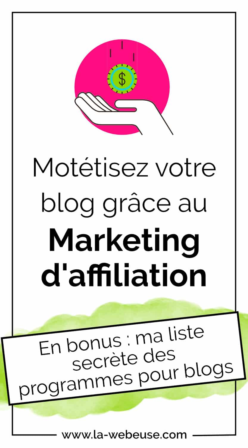 marketing d'affiliation pour monétiser son blog