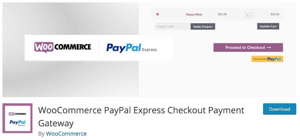 plugin Paypal express