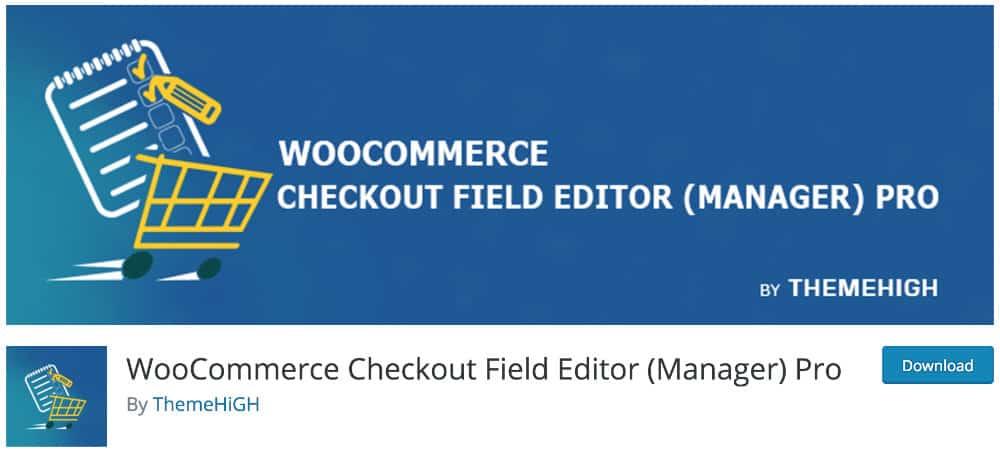 plugin chechout field editor