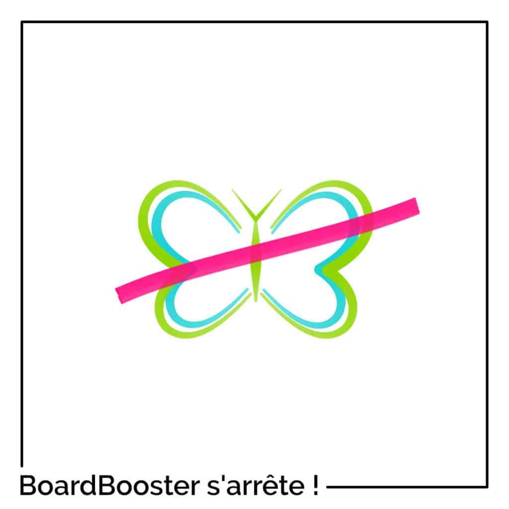 Arrêt officiel de BoardBooster
