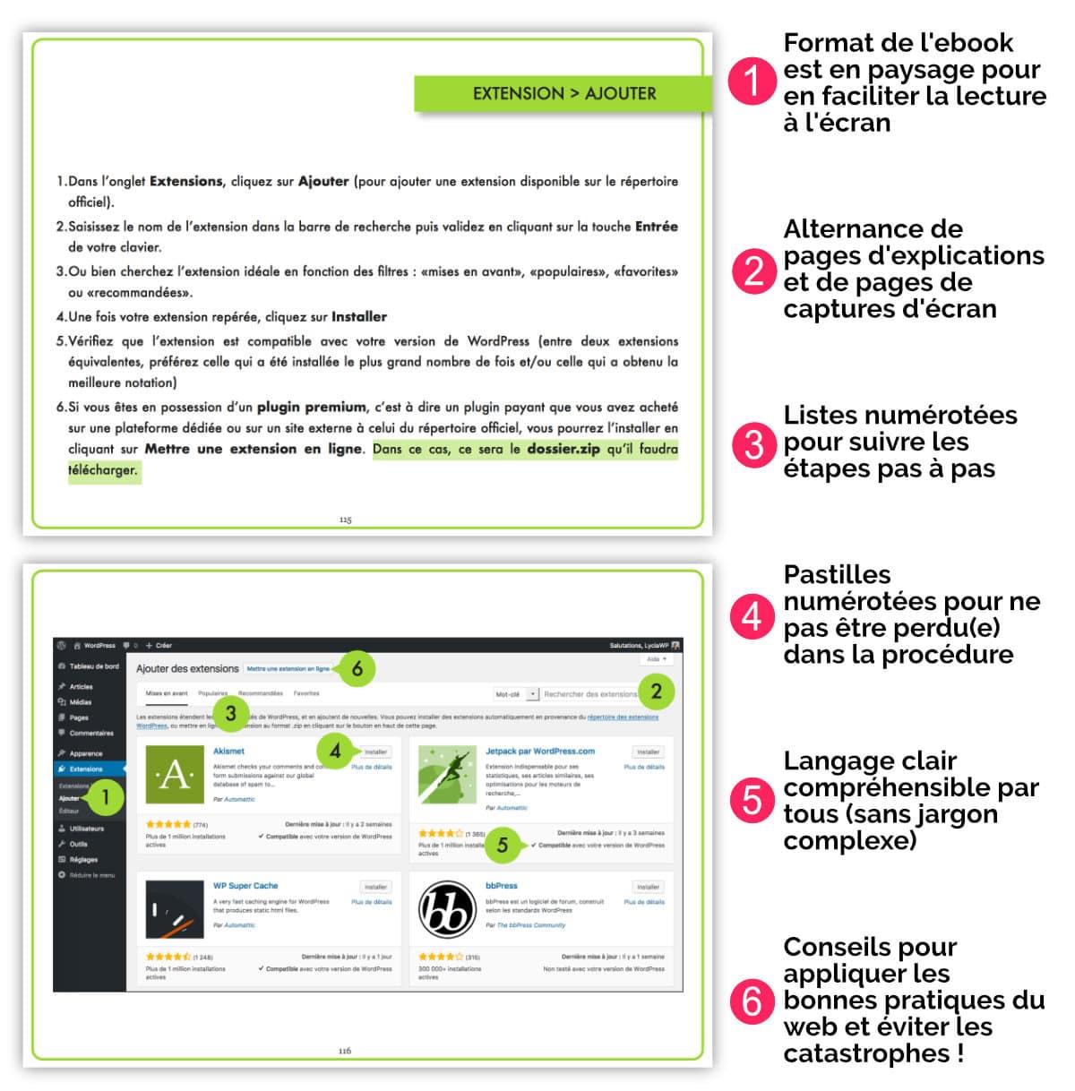 composition guide WordPress PDF
