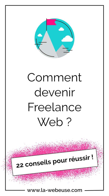 22 conseils pour devenir freelance web - pinterest