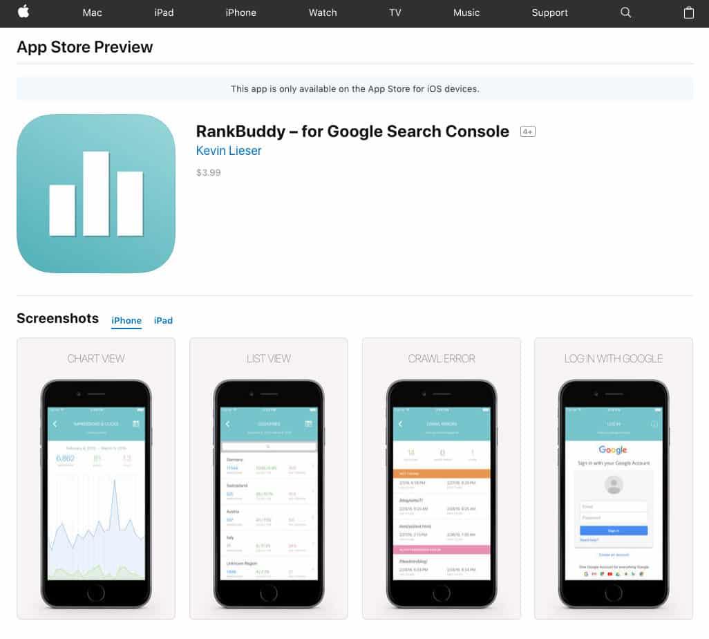 RankBuddy - App SEO
