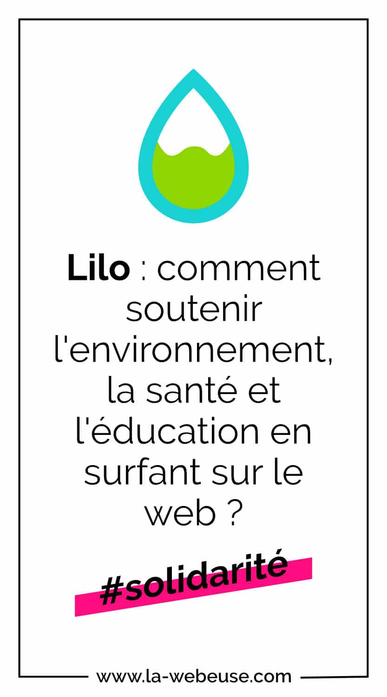 Le moteur de recherche Lilo - pinterest
