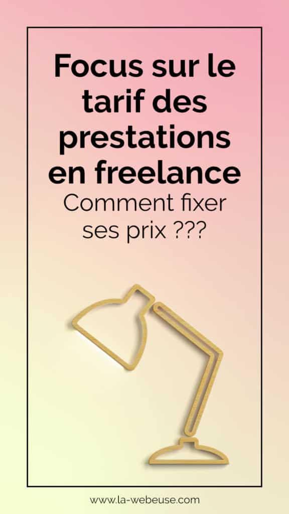 tarifs freelance