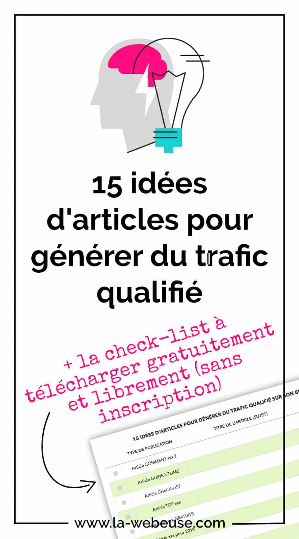 15 idées d'articles Pinterest