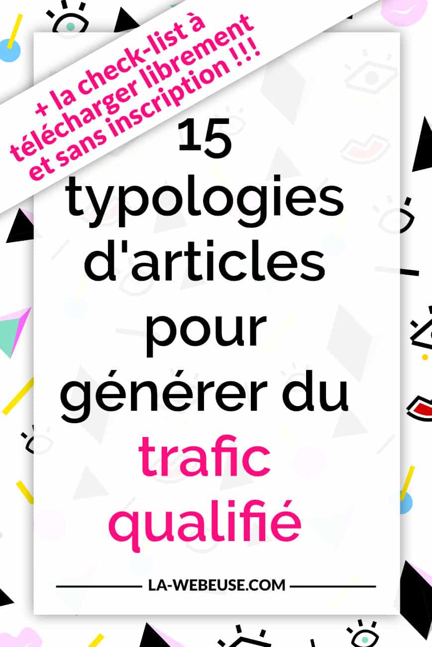 typologie d'articles