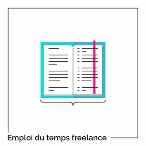 gérer emploi du temps freelance